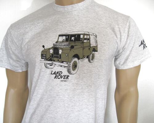 Land Rover Serie One T-Shirt Drei Stile Frühe Serie 1 Pick-Up Fünf Größen