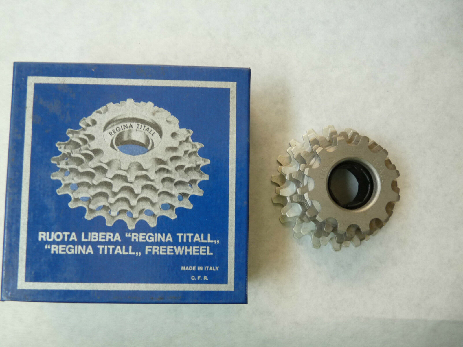 Regina Titanium Freewheel 7 Speed  12-18 ISO Vintage Road Bike 227 grams NOS  fast shipping and best service