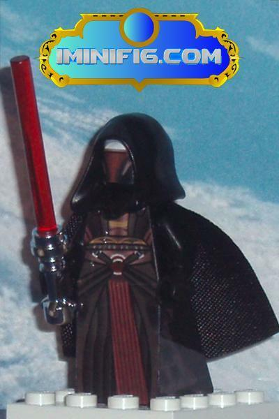 Custom LEGO Star Wars KOTOR I - Darth Revan #054A