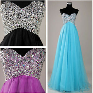 2012-Sweetheart-Beaded-Tulle-Formal-Evening-Party-Long-Prom-Evening-Dresses-Gown