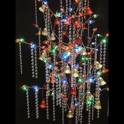 Sparkling Crystal strands to hang on Christmas Tree's C