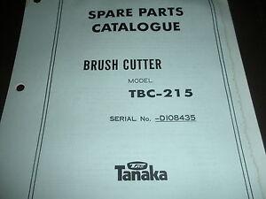 tanaka brush cutter owner s manual