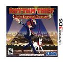 Rhythm Thief & the Emperor's Treasure (Nintendo 3DS, 2012)