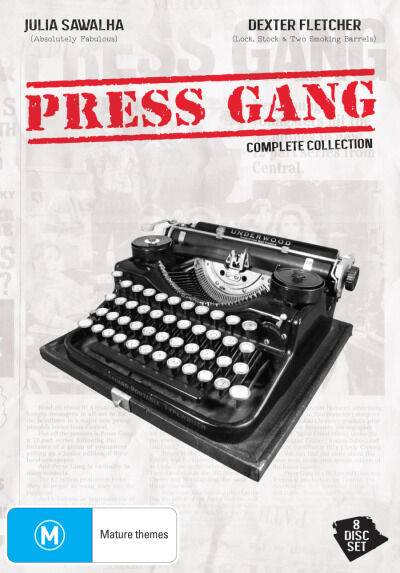 Press Gang - Complete Collection (DVD, 2013, 8-Disc Set)--FREE POSTAGE