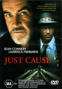 Just-Cause-New-Old-Aus-Stock-NEW-DVD-Rare-OOP-Sean-Connery