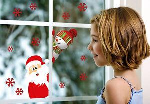 Weihnachten fenstersticker fensterfolie deko fenster - Fensterfolie weihnachten ...