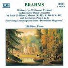 Johannes Brahms - Brahms: Waltzes for piano/Song Transcriptions (1995)