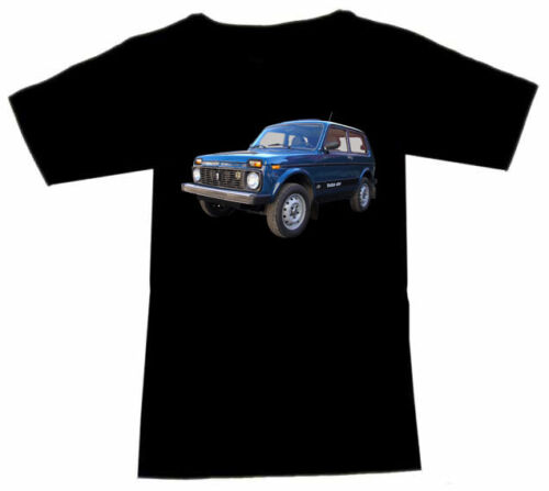 T-Shirt with Lada Automotive Fruit of the Loom S M L XL 2XL 3XL