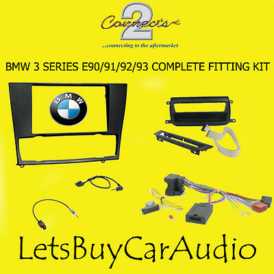 CONNECTS 2 CTKBM01 BMW 3 SERIES E90/91/92/93 COMPLETE DOUBLE DIN FITTING KIT