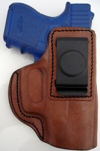 TAGUA-BROWN-LEATHER-RH-IN-PANTS-ITP-IWB-HOLSTER-for-Ruger-SR9C-SR40C-COMPACT