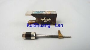 High quality advanced 1 pcs 4/4 violin bow frogs with silver mount #1