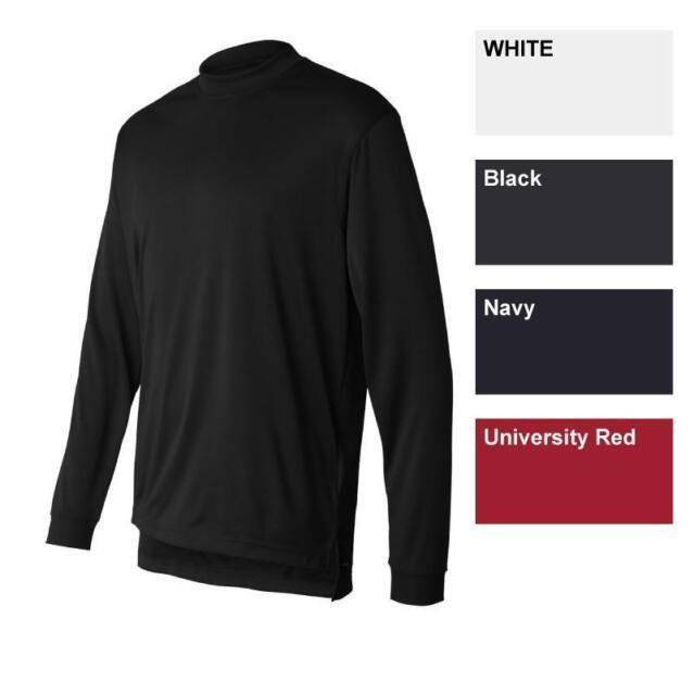 ADIDAS GOLF Climalite Tech Mens S-2XL Long Sleeve dri-fit Mock Neck Shirts a104