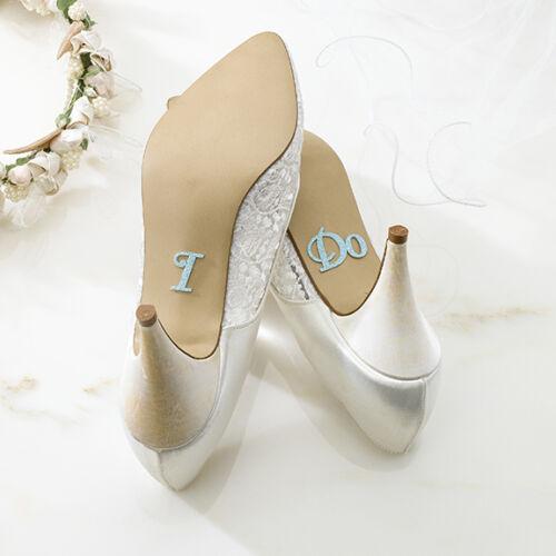 """Schuhsticker """"I Do"""" zum aufkleben. Hochzeit, Gastgeschenk, Braut"""
