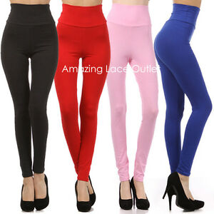 HIGH-WAISTED-HOT-PANTS-Cotton-Yoga-Tight-Leggings-Waist-Dance-Fashion-Apparel