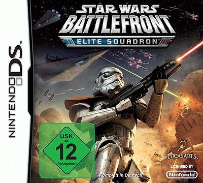 Star Wars Battlefront Elite Squadron Nintendo DS Spiel Game Deutsche Ware Top