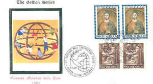 VATICAN-CITY-WORLD-PEACE-1981-SPECIAL-CANCEL-COVER