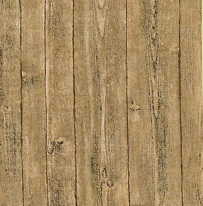 Realistic pine wood panel effect feature heavyweight for Wooden wallpaper price