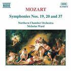 Wolfgang Amadeus Mozart - Mozart: Symphonies Nos. 19, 20 & 37 (1996)