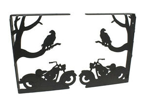 Motorcycle-amp-Eagle-Shelf-Bracket-Set