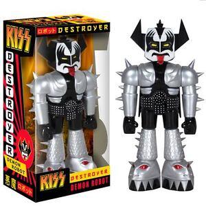 KISS-Gene-Simmons-11-034-Destroyer-Demon-Robot-Vinyl-Figure-Funko-NEW