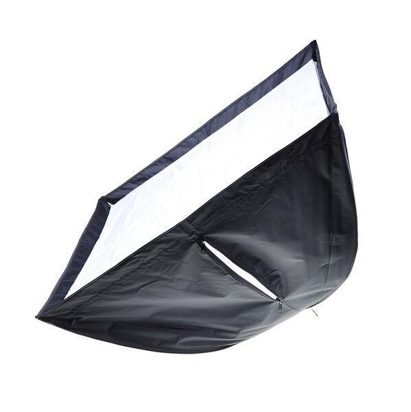 Portable 70x 70cm Umbrella Softbox Soft Box Reflector Speedlight