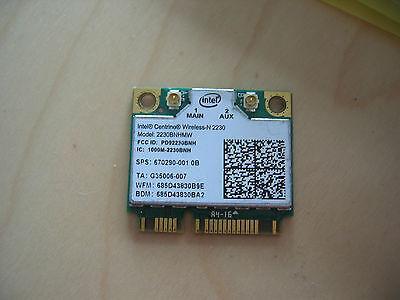HP COMPAQ 670290-001 INTEL 2230 WIRELESS-N + BLUETOOTH WIRELESS WIFI MINICARD