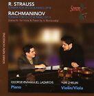 R. Strauss: Sonata for Violin & Piano, Op. 18; Rachmaninov: Sonata for Cello & Piano, Op. 19 (2006)