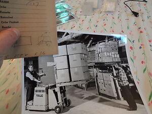 1958-Brooklyn-Navy-YardWoman-Worker-Fork-Lift-4-X-5-Negative-8-X-10-Photo