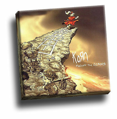 Korn - Follow The Leader Giclee Canvas Album Cover Art Picture