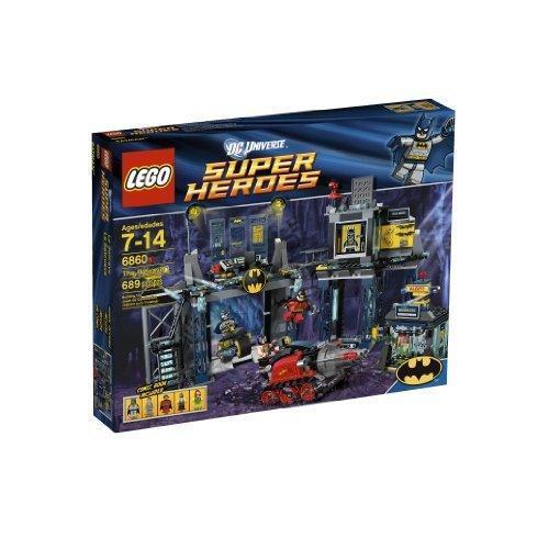 NEW LEGO 6860 Batcave w/5 minifigures NISB & RetiROT, 689 PIECES, AGES 7-14