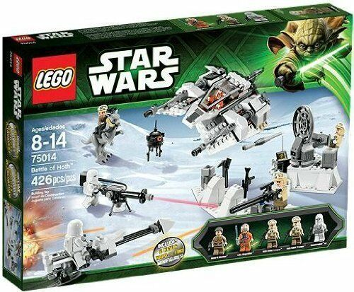 LEGO- Starwars Starwars Starwars Battle of Hoth. 75014 BRAND NEW RETIRED 8df373