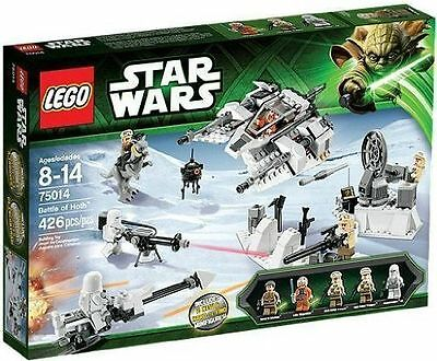 Lego Star Wars Battle of Hoth 75014 SEALED Snowspeeder Tauntaun Probe New MISB