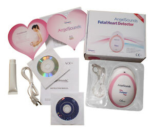 Baby-Fetal-Doppler-Angel-Sound-Heart-Monitor-Portable-Angelsounds-Detector-D