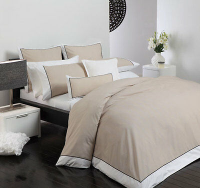 ESSEX LINEN By Logan & Mason King Size Bed Doona/Duvet/Quilt cover set 3pce NEW