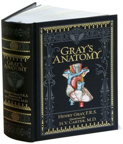 GRAY'S ANATOMY ~ MASSIVE LEATHER BOUND GIFT EDITION ~ ILLUSTRATED ~ BRAND NEW HC