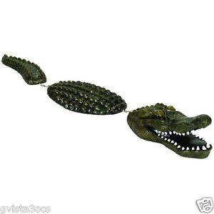 Aquascape floating alligator gator decoy protector pond for Floating fish pond
