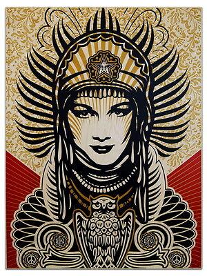 SD8184 Shepard Fairey Peace Goddess Art 24x18 Print POSTER