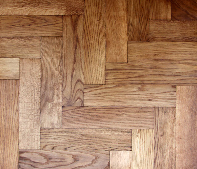 Reclaimed Original Oak Woodblock/Wood Block/Parquet School Floor/Flooring