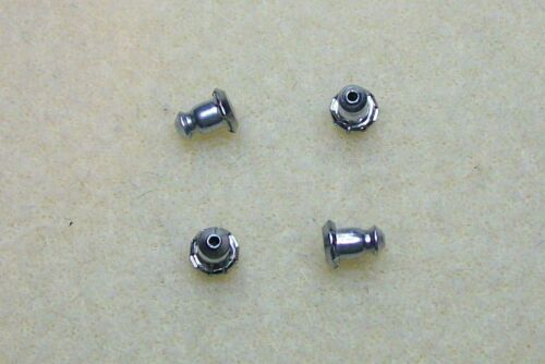 Hipoalergénico níquel libre pendiente espaldas 4 Tipos para Elegir
