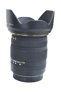 Sigma-EX-HSM-OS-DC-17-50-Mm-Lentille-F-2-8-Pour-Canon-Neuf-UK-Stock