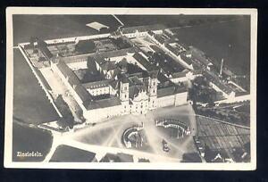 Switzerland-EINSIEDELN-Monastery-1926-aerial-RP-PPC