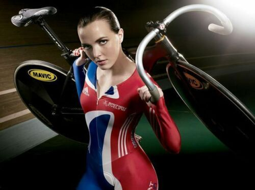 Victoria Pendleton Cycling Olympic 10x8 Photo #3