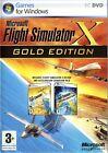 Flight Simulator X -- Gold Edition (PC, 2008) - European Version