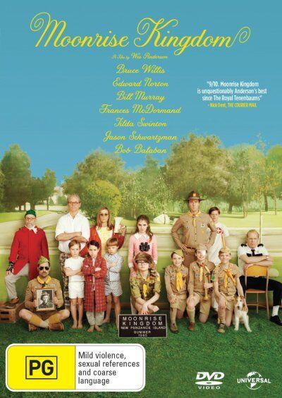 Moonrise Kingdom (DVD, 2012)