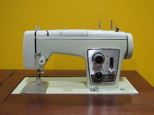 Sears-Kenmore-Sewing-Machine-In-Cabinet-Model-1752-With-Pattern-Cams-amp-Manual