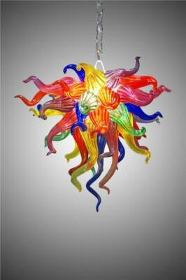 """Blown Chandelier by Seth Parks 24"""" x 18"""""""
