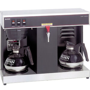 Bunn Vlpf 12 Cup Commercial Coffee Maker W 2 Warmers
