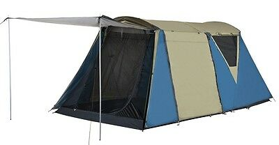 OZTRAIL HIGHLANDER (2 ROOM) / 8 Person Large Family Man Tent  *BRAND NEW*