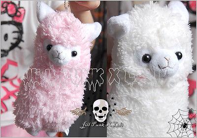 Japan cartoon visual Lolita Fantasy Llama Pygmy marshmallow stuffed purse JN4016