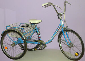 TED-WILLIAMS-SEARS-ADULT-TRICYCLE-VINTAGE-BICYCLE-w-3-SPEED-SHIFTER-KNOB